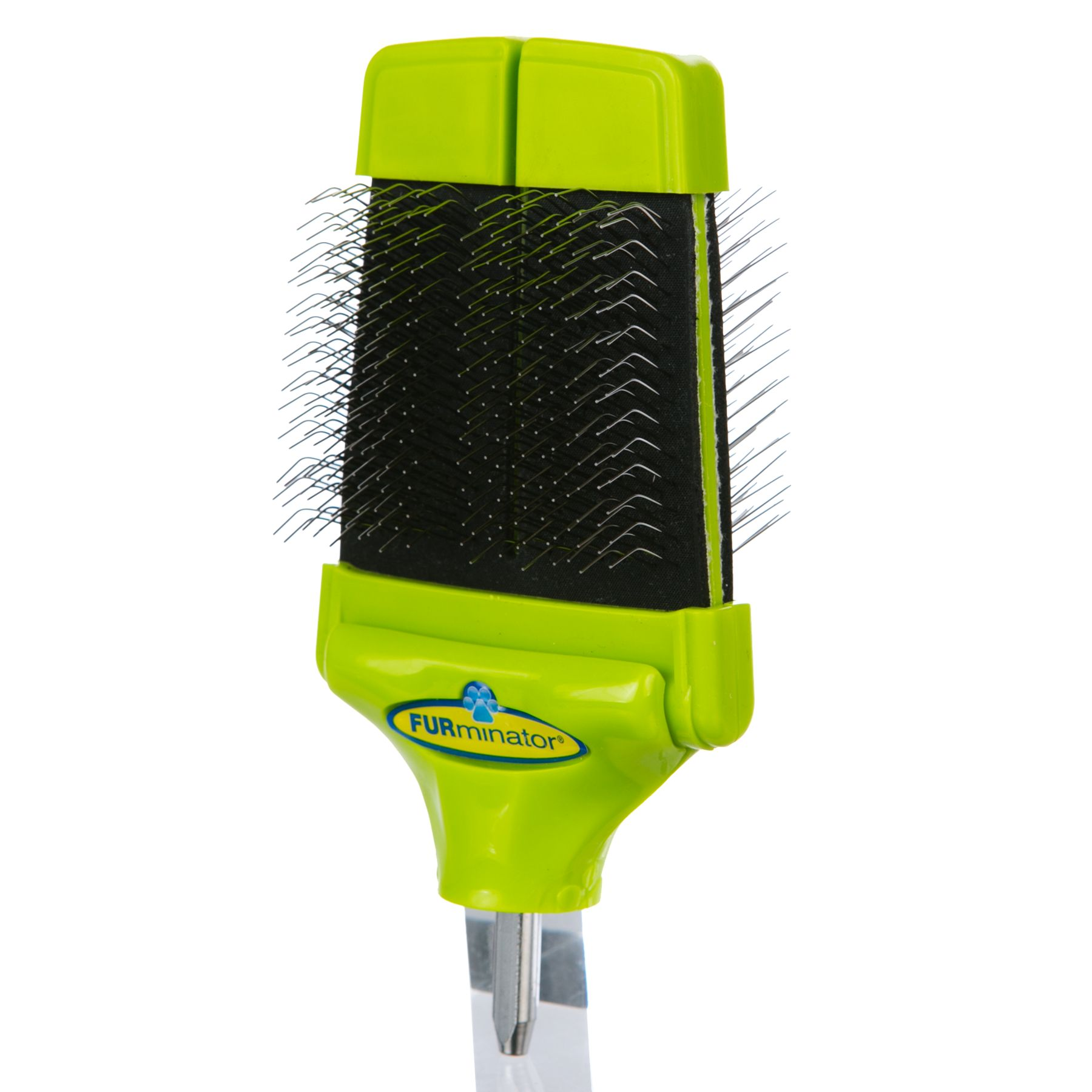 FURminator FURflex, Dual Slicker Brush Head Dog Tool 5238735