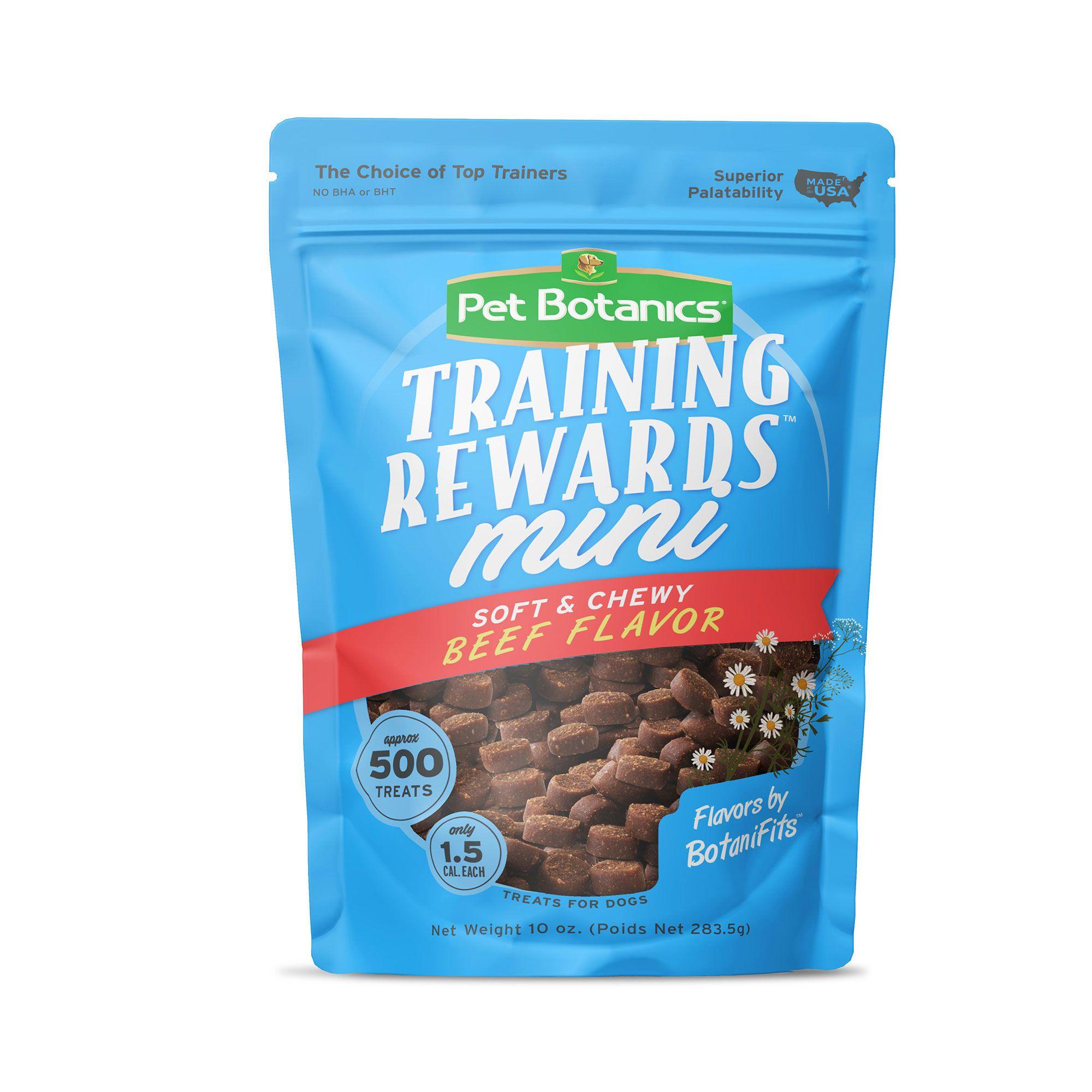 Pet Botanics Natural Beef Mini Training Reward Dog Treat size: 10 Oz 5238815