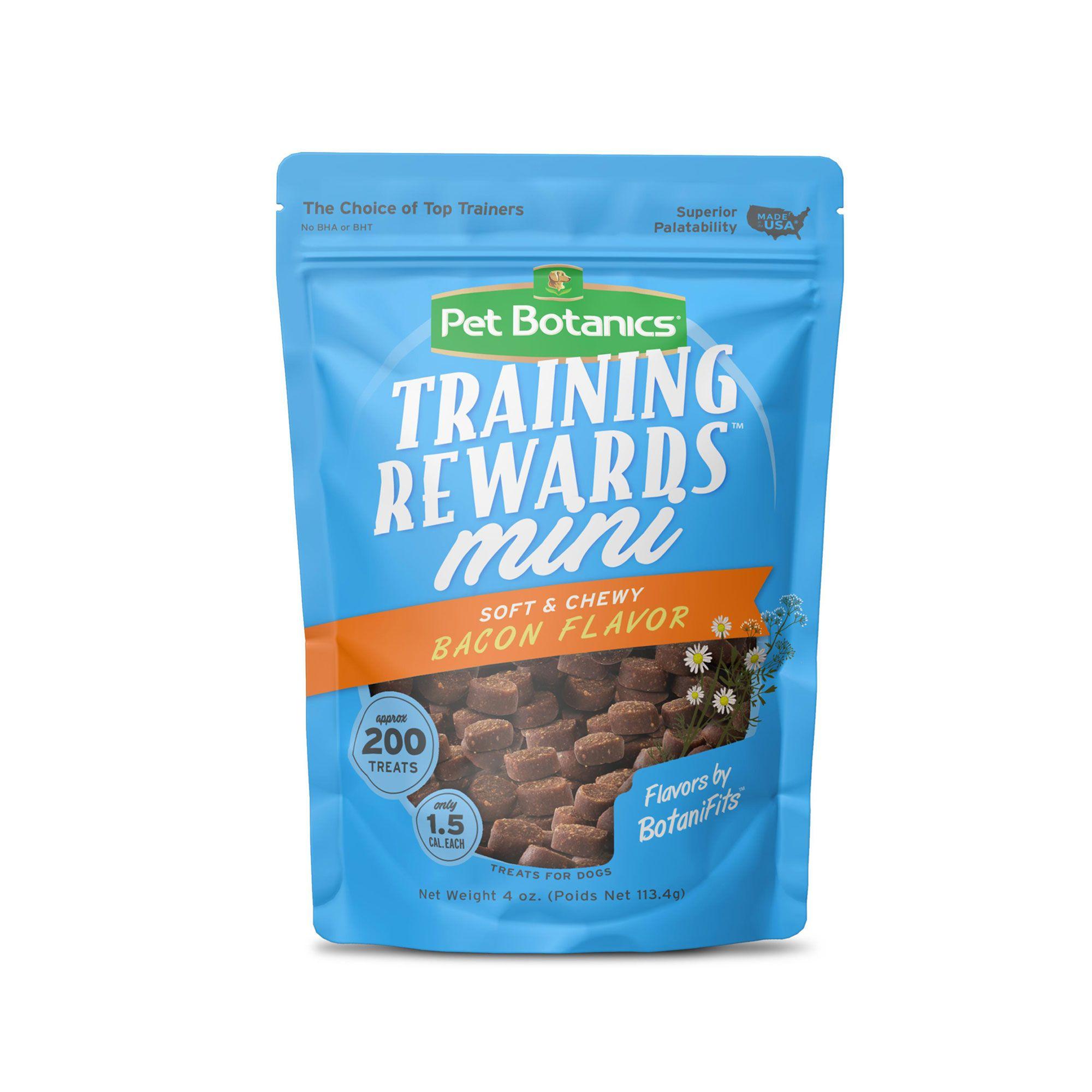 Pet Botanics Bacon Mini Training Reward Dog Treat size: 10 Oz, Real Bacon, Soft and Moist, Puppy and Adult Dogs, Pork Liver 5238817
