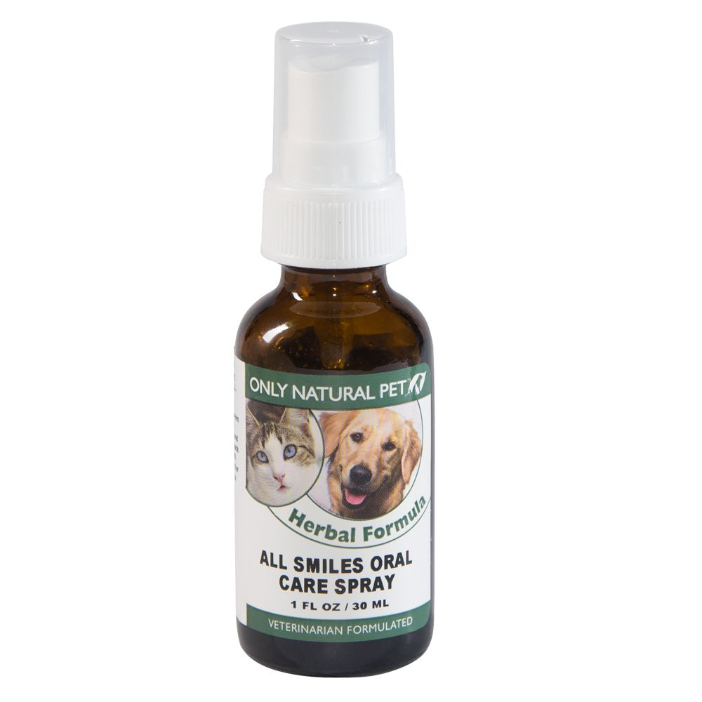 Only Natural Pet All Smiles Oral Care Spray Size 1 Fl Oz