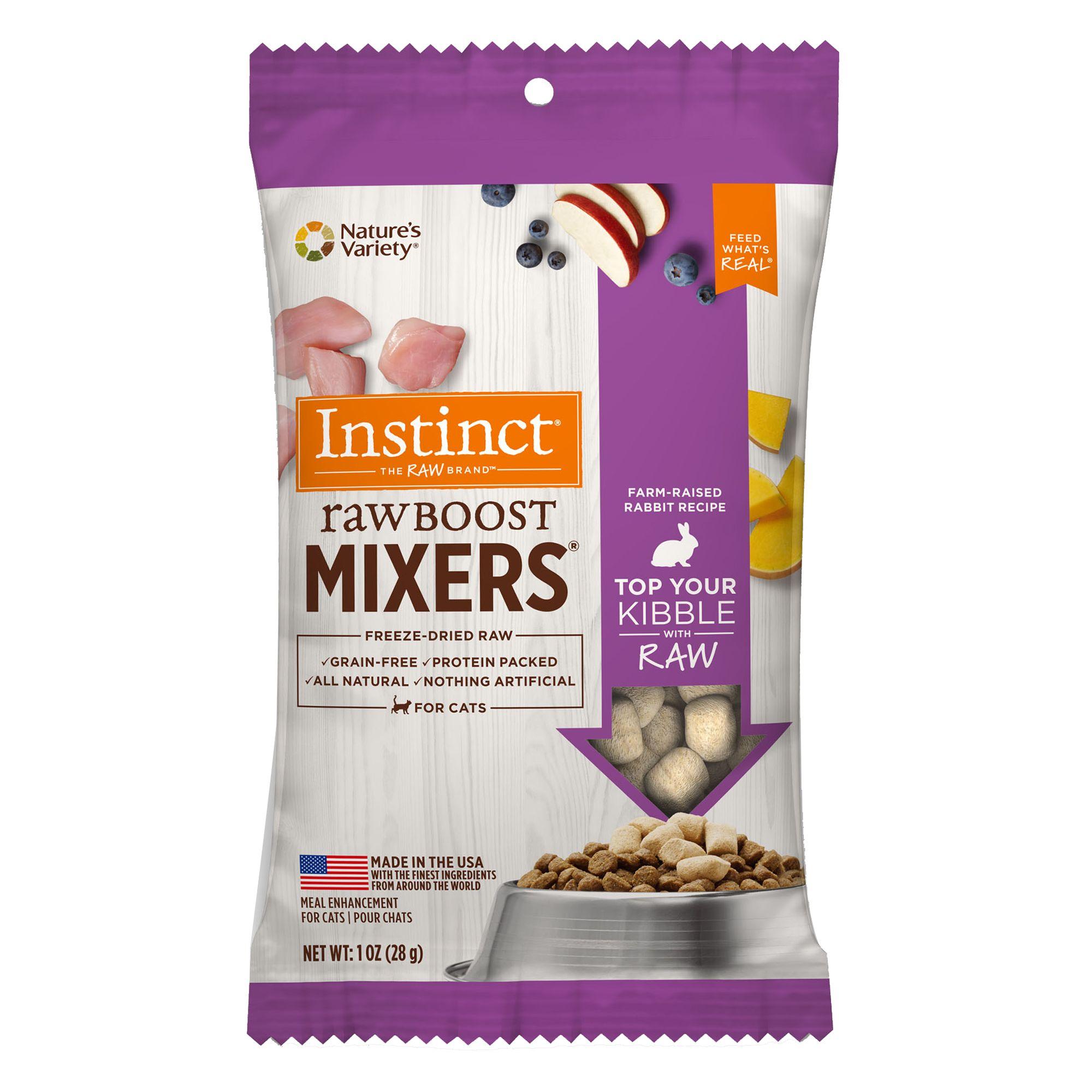 Nature's Variety® Instinct® Raw Boost Mixers Cat Foo