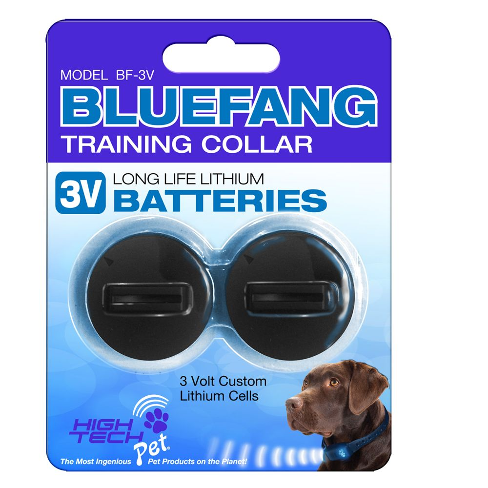 High Tech Pet Bluefang Training Collar Batteries