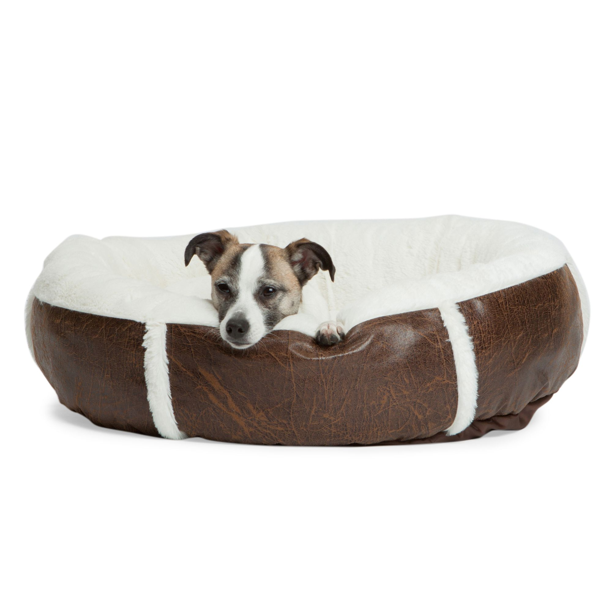 Best Friends By Sheri Bumper Bolster Dog Bed Size 24l X 24w X 7h