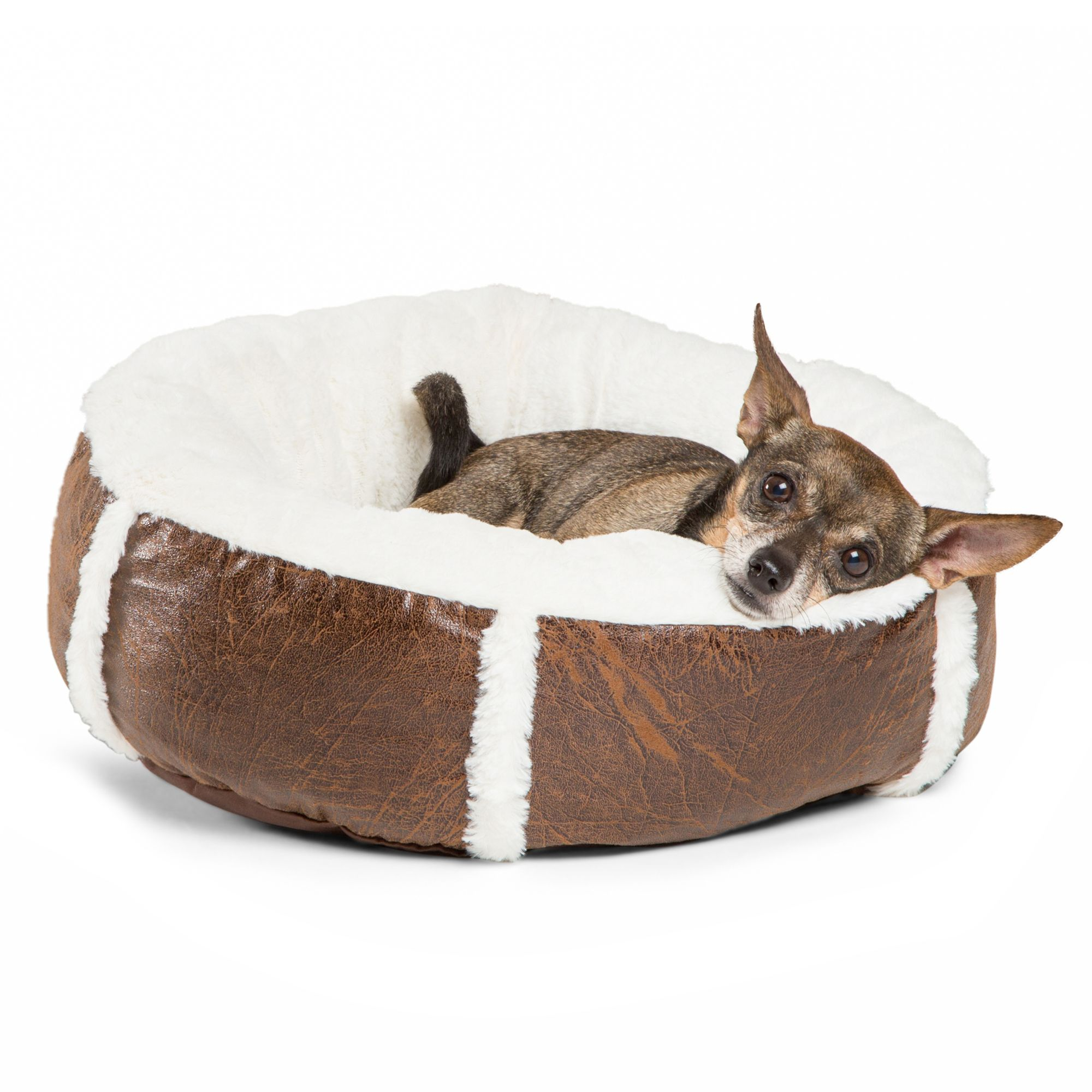 Best Friends By Sheri Bumper Bolster Dog Bed Size 30l X 30w X 10h