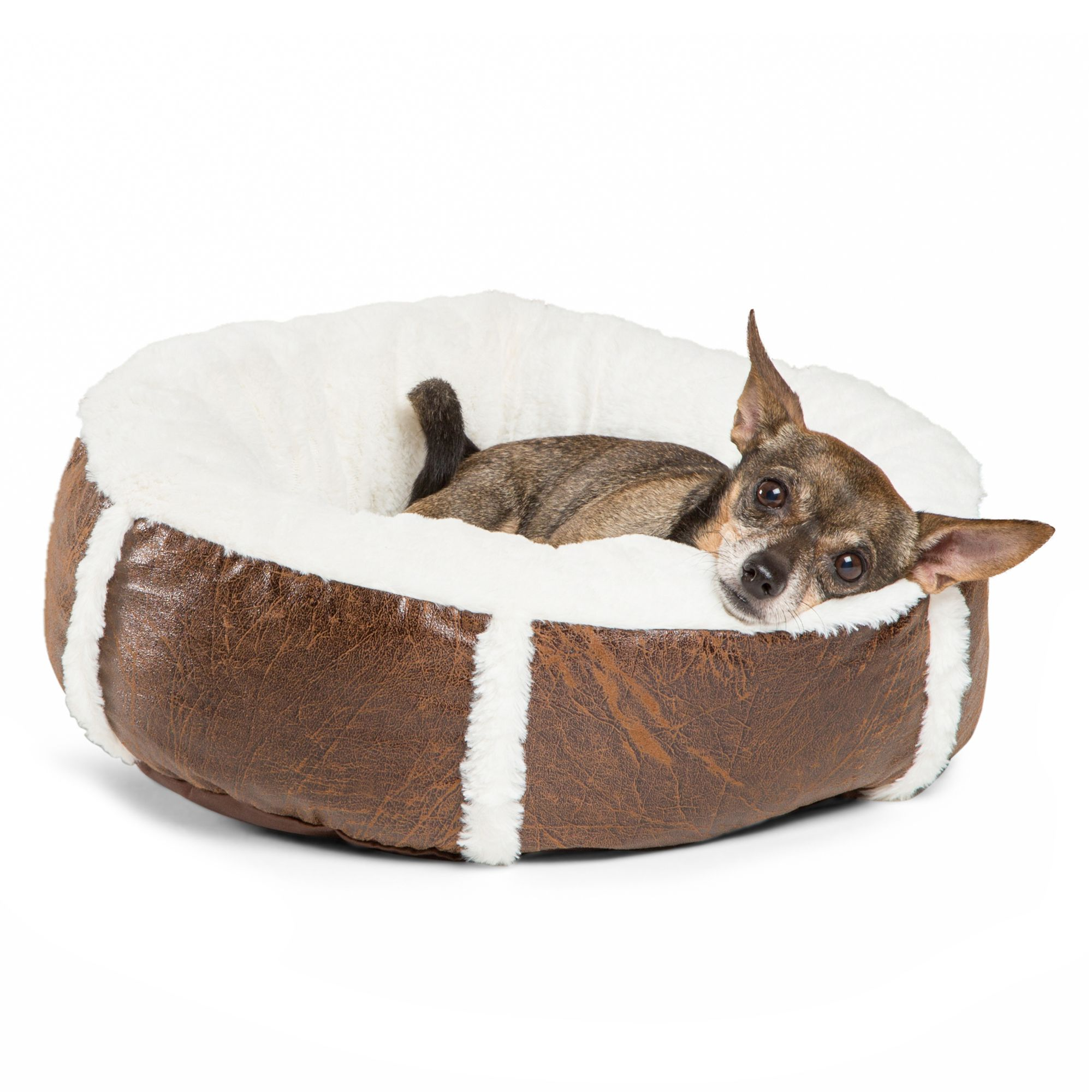 Best Friends By Sheri Bumper Bolster Dog Bed Size 18l X 18w X 6h