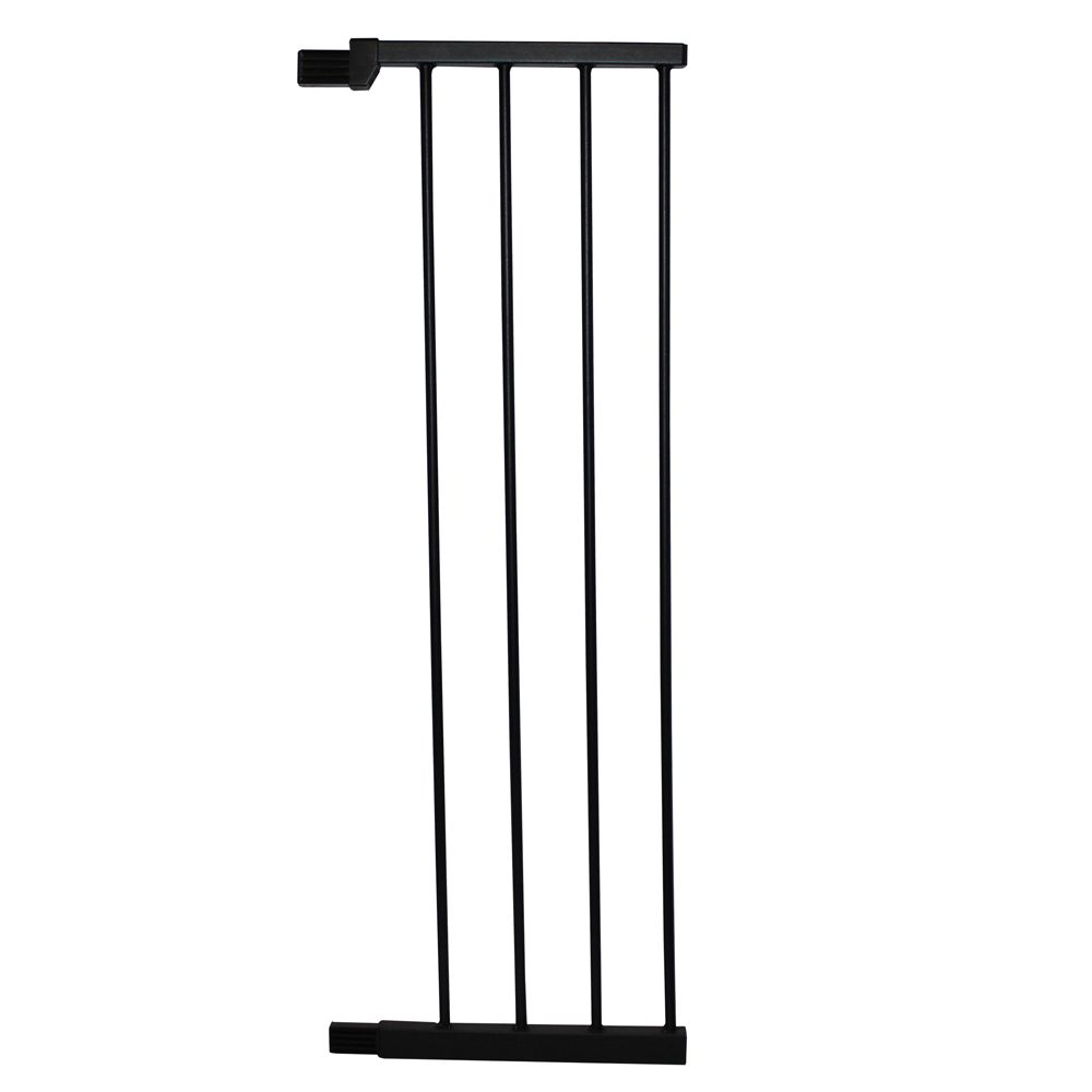 Cardinal Gate Extra Tall Premium Pressure Pet Gate Extension Size 36l X 11w Black Cardinal Gates
