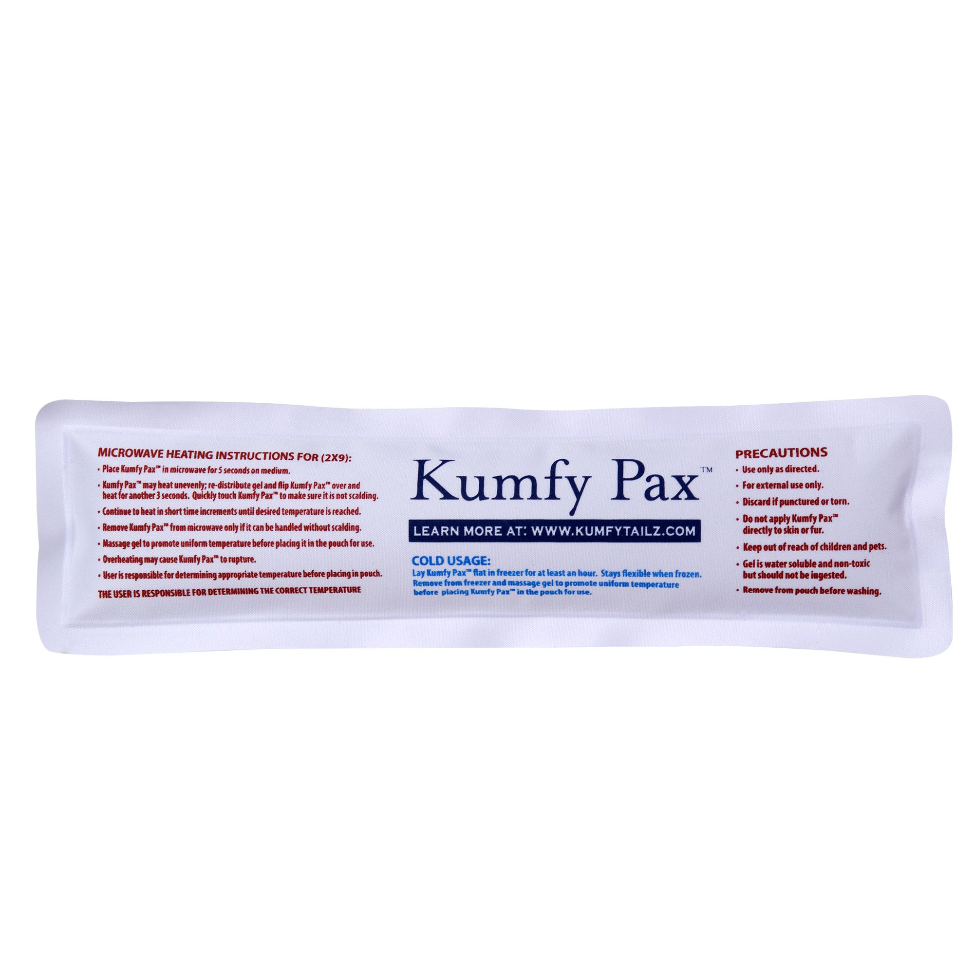 Kumfy Tailz Warming /cooling Replacement Gel Pack Size Large