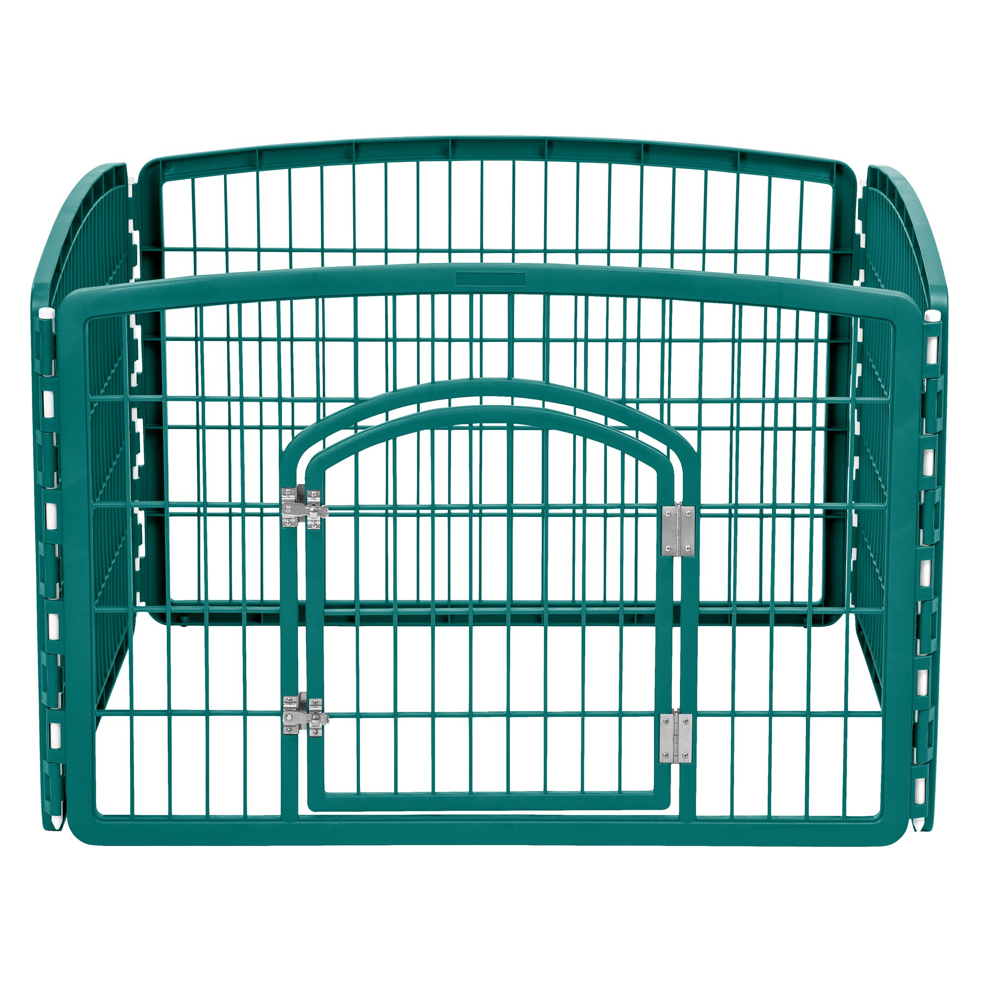 Iris 4 Panel Pet Pen Everglade