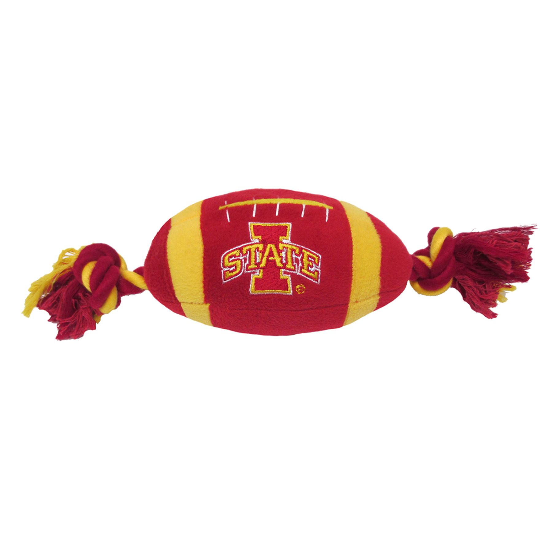Iowa State University Cyclones Ncaa Football Dog Toy, Pets First 5242636
