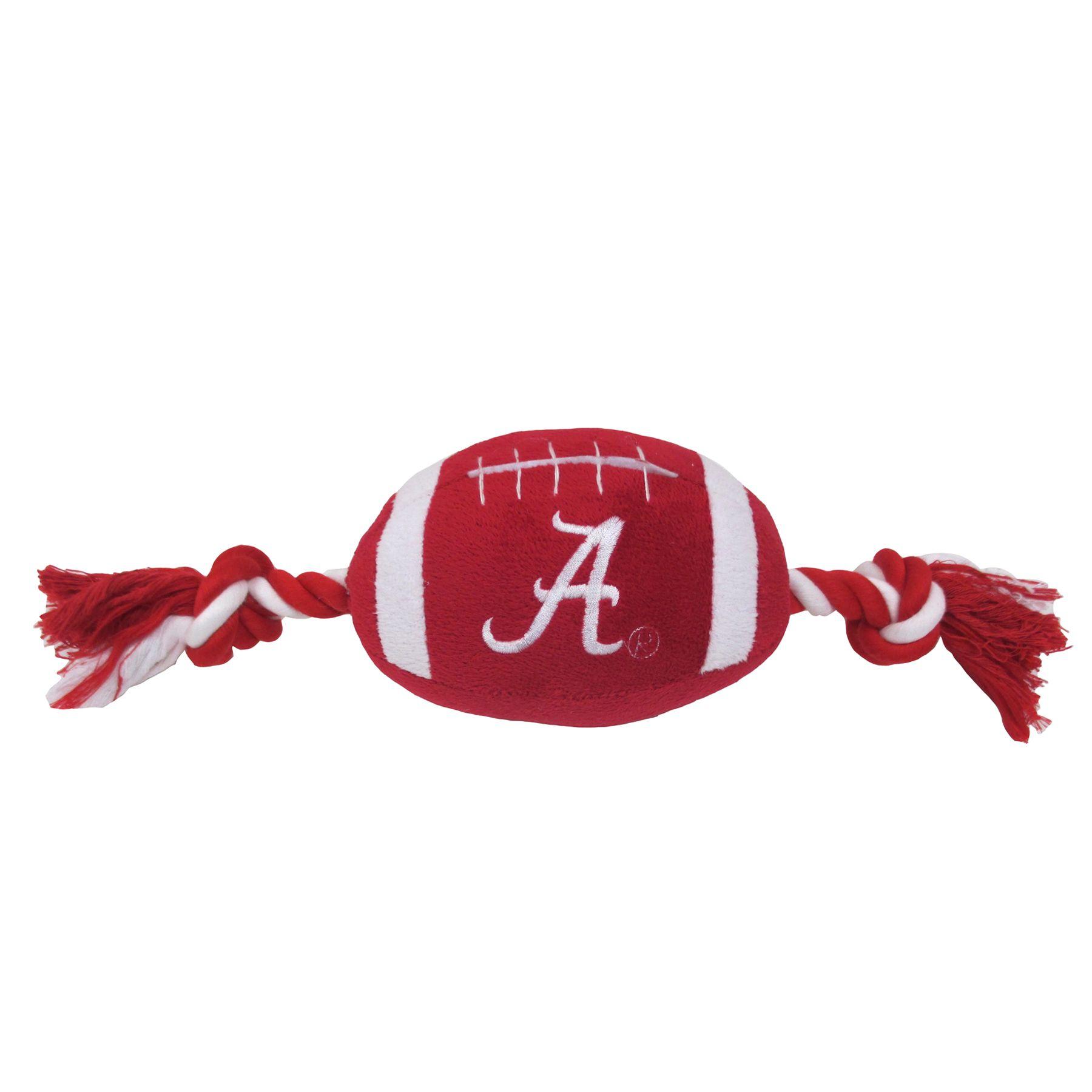 University of Alabama Crimson Tide Football Dog Toy 5243450