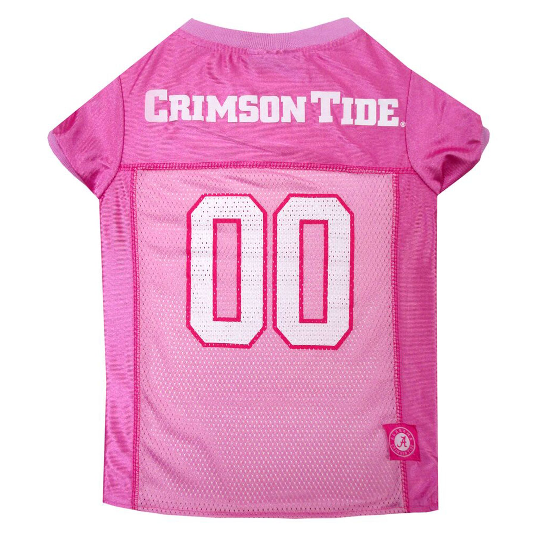 University of Alabama Crimson Tide Ncaa Jersey size: Large, Pink, Pets First 5243536