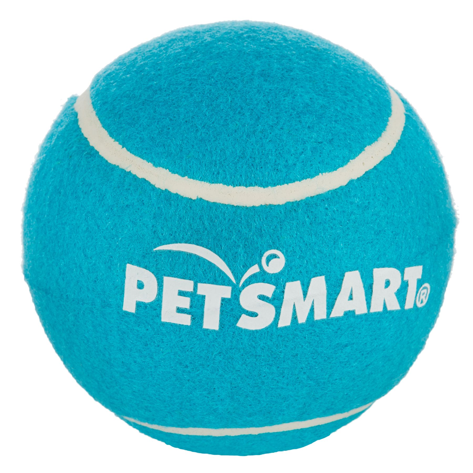 Grreat Choice Petsmart Giant Tennis Ball Blue