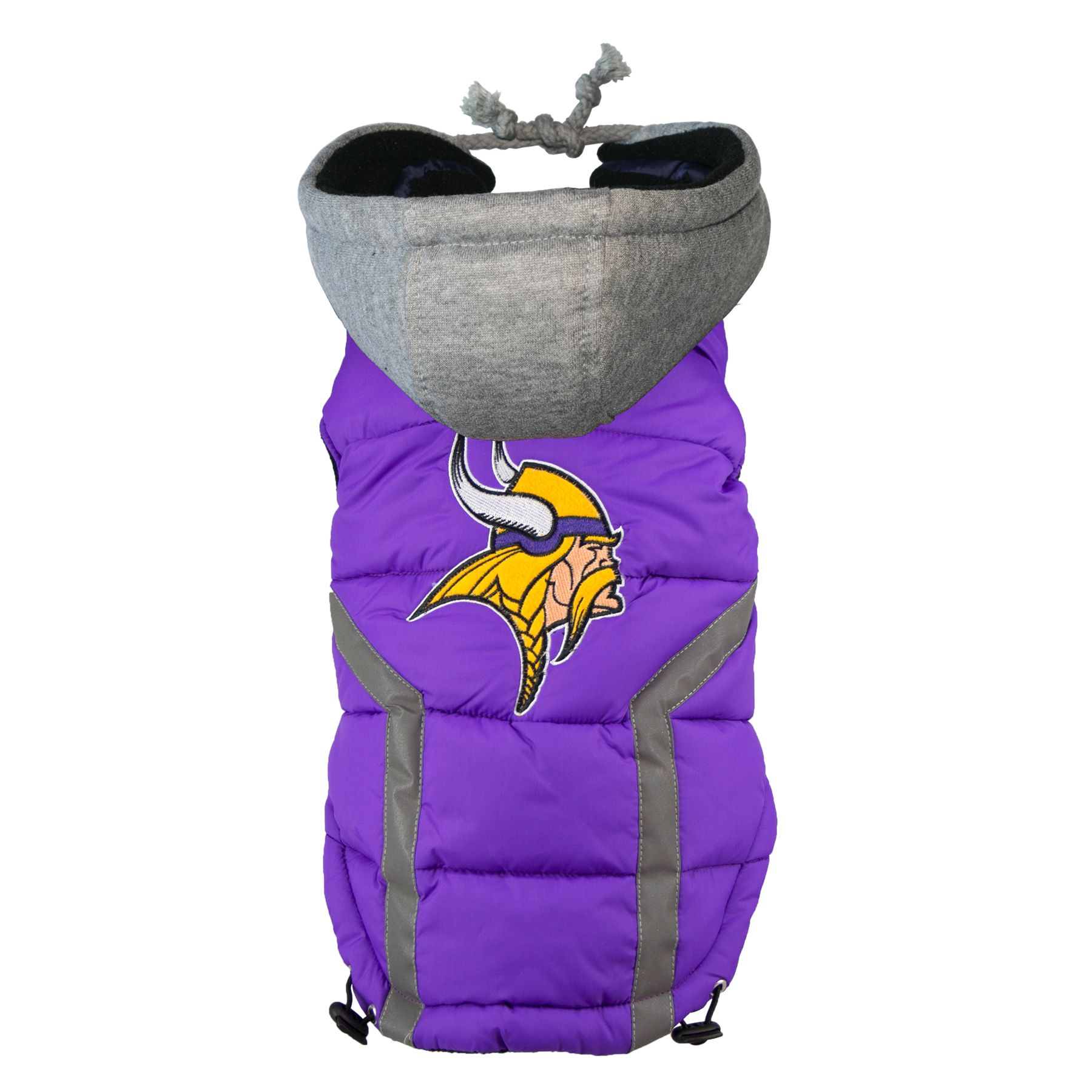 Minnesota Vikings NFL Puffer Vest size: 2X Large, Hip Doggie photo