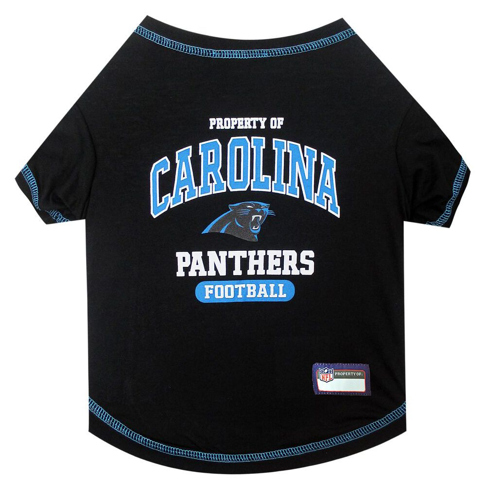 Carolina Panthers Nfl Team Tee Size X Small Pets First