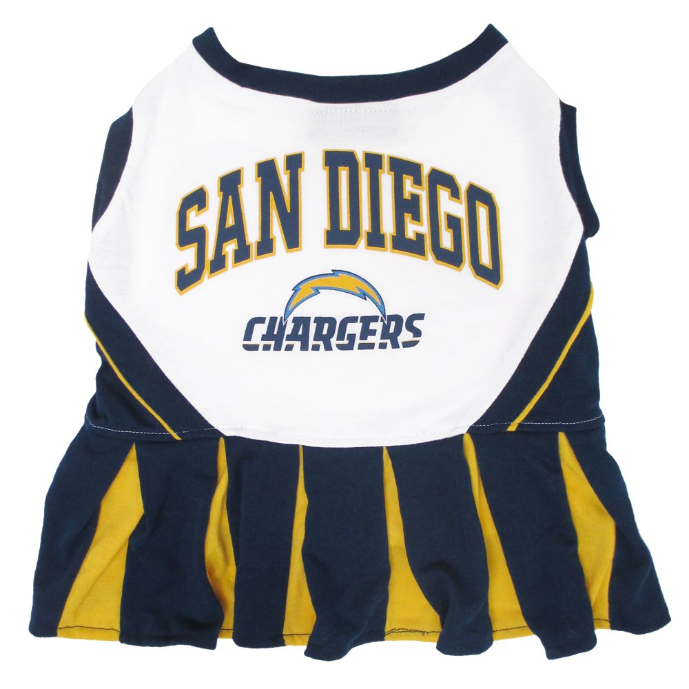 San Diego Chargers NFL Cheerleader Uniform size: X Small, Pets First 5244636