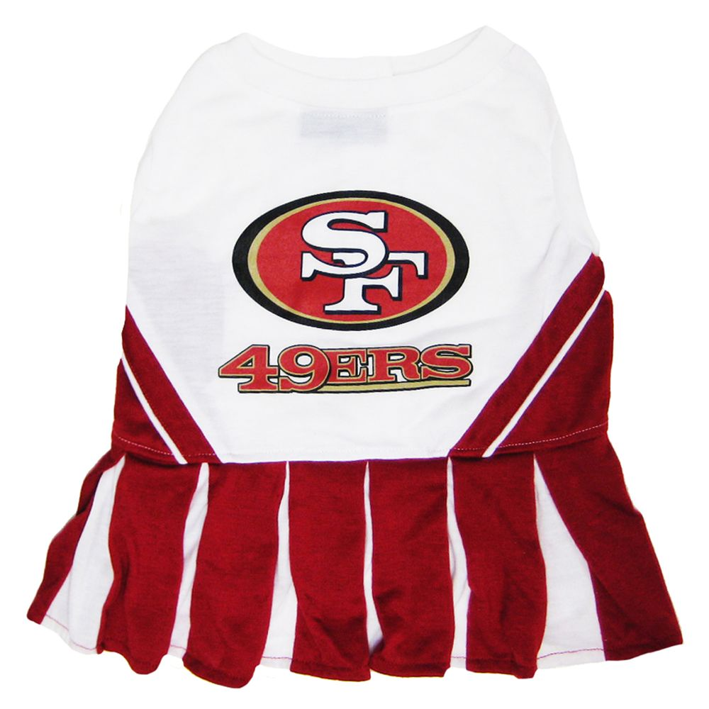 San Francisco 49ers NFL Cheerleader Uniform size: Small, Pets First 5244640