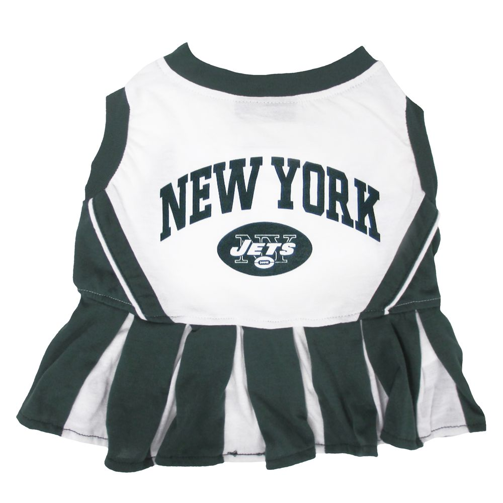 New York Jets NFL Cheerleader Uniform size: Small, Pets First 5244707