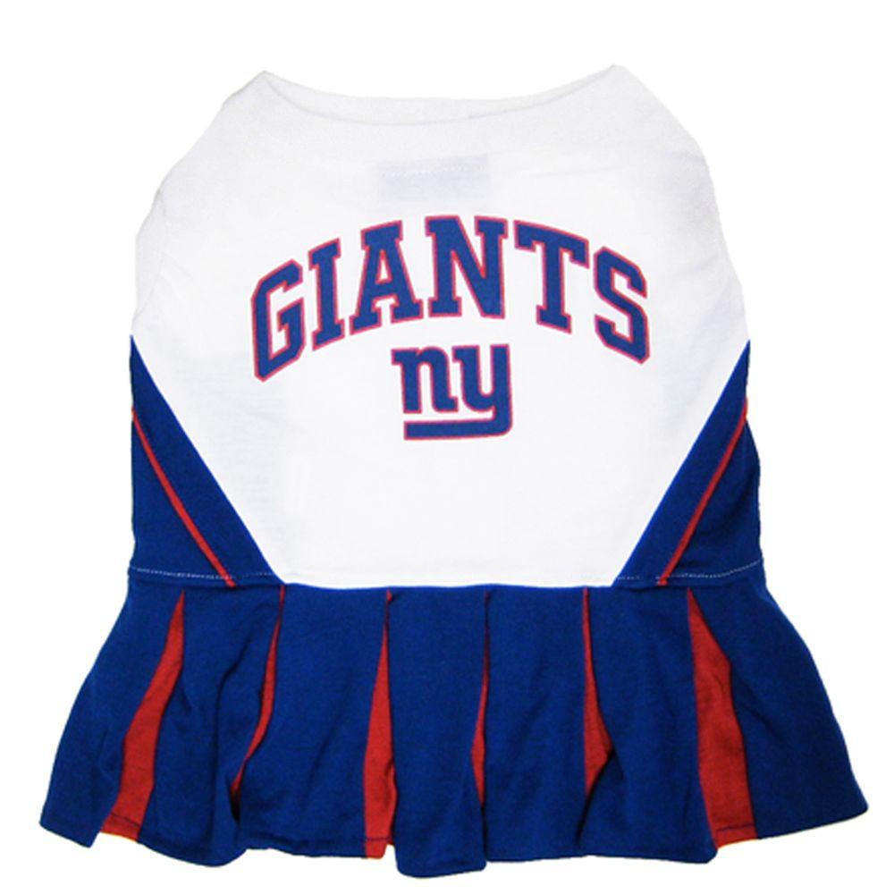 New York Giants NFL Cheerleader Uniform size: Medium, Pets First 5244711