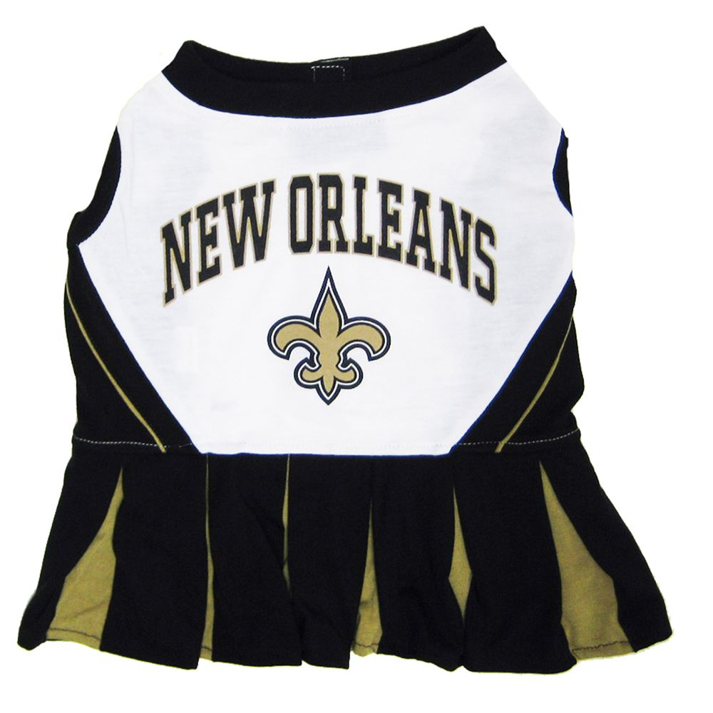 New Orleans Saints NFL Cheerleader Uniform size: Small, Pets First 5244713