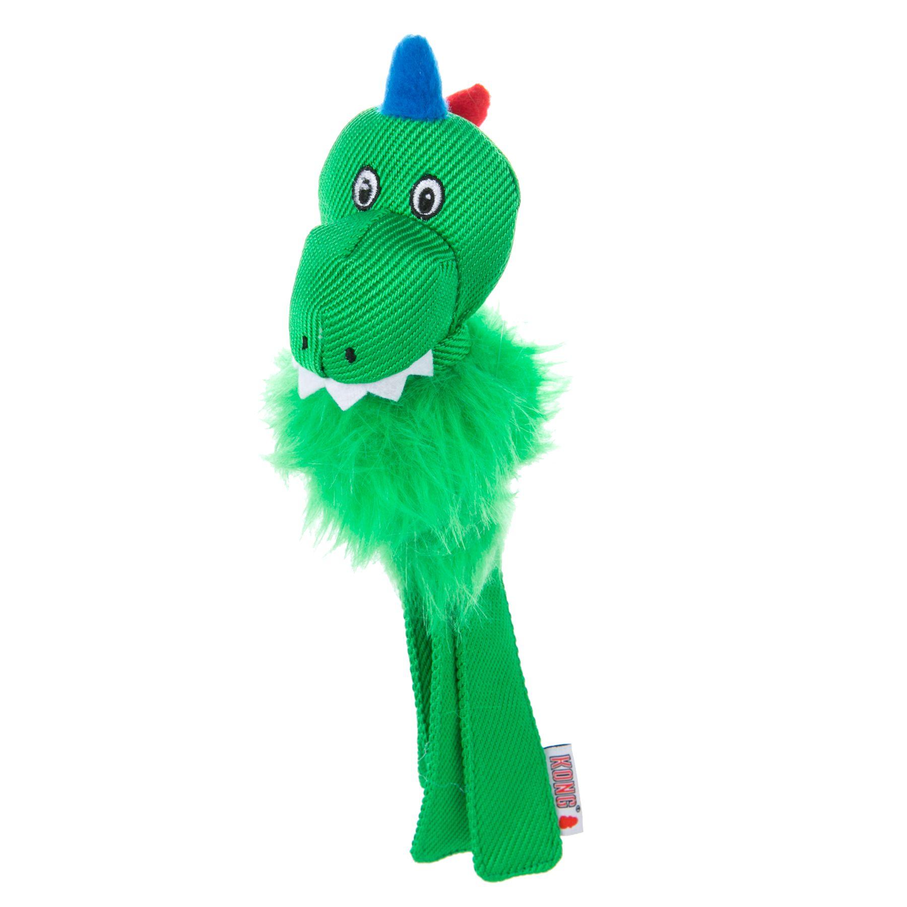Kong® Wubba, Fuzzy T-Rex Dog Toy - Squeaker 5244791