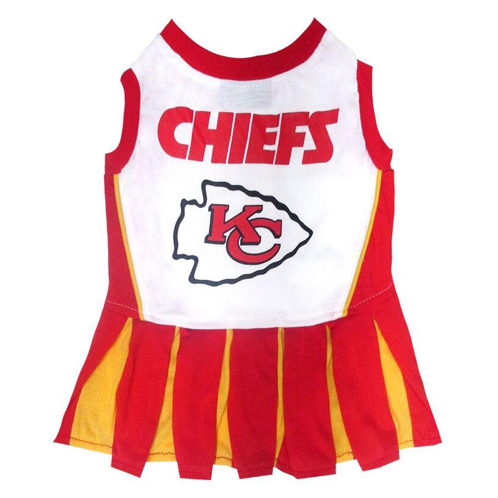 Kansas City Chiefs NFL Cheerleader Uniform size: Small, Pets First 5244801