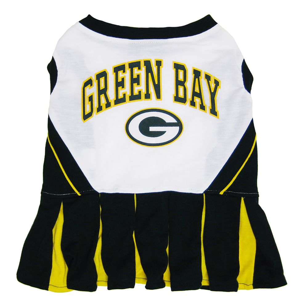 Green Bay Packers NFL Cheerleader Uniform size: X Small, Pets First 5244842