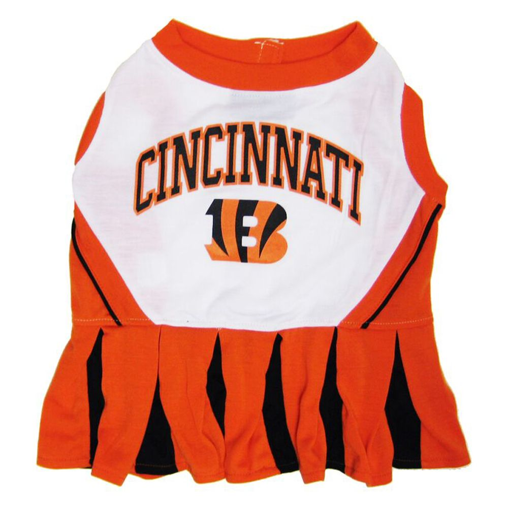 Cincinnati Bengals NFL Cheerleader Uniform size: Small, Pets First 5244891