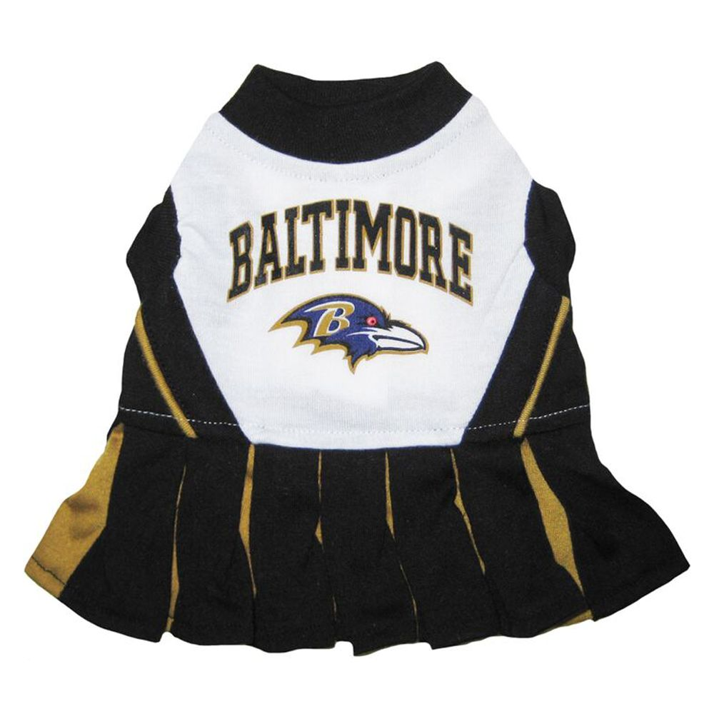 Baltimore Ravens NFL Cheerleader Uniform size: Medium, Pets First