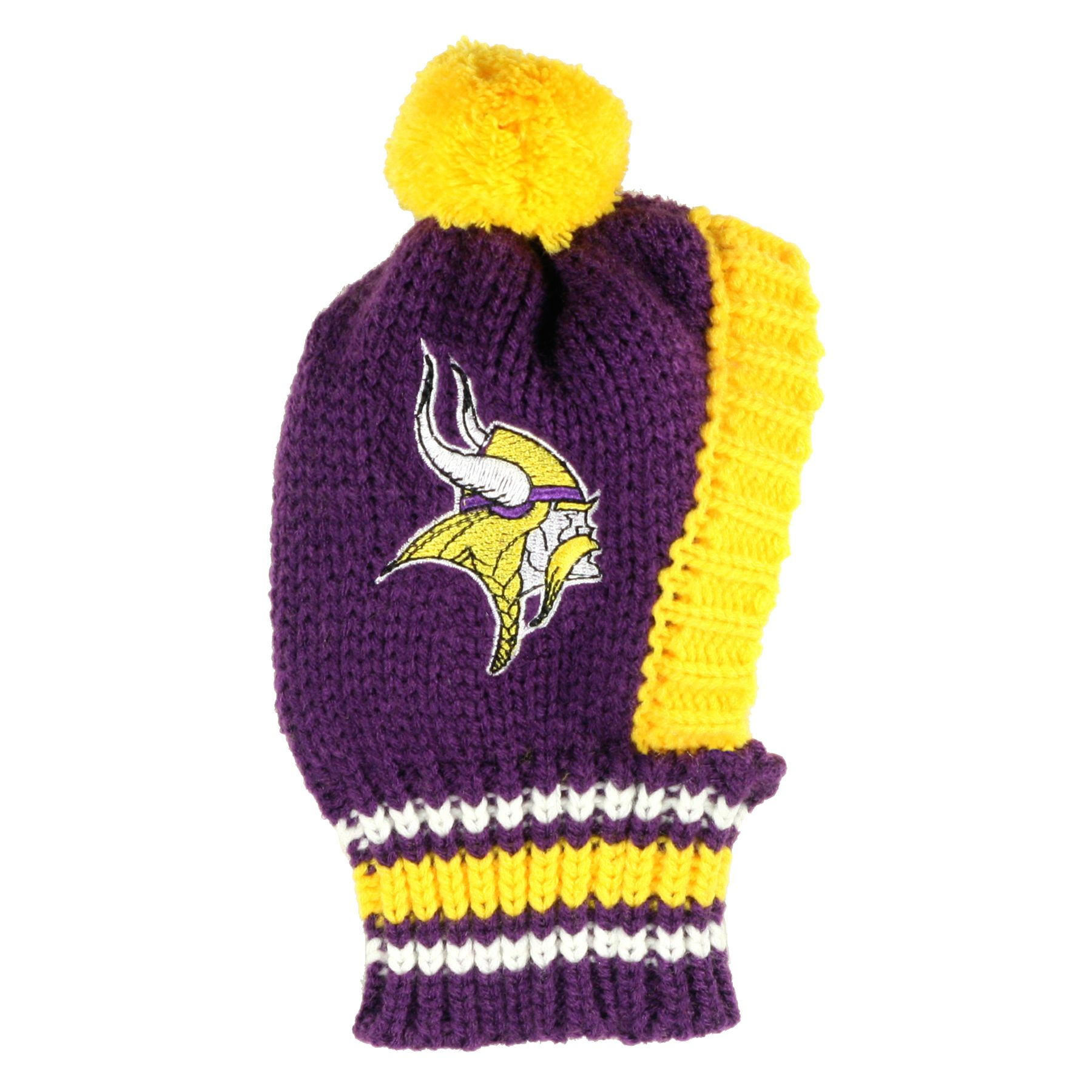 Minnesota Vikings NFL Knit Hat size: Large, Hip Doggie photo