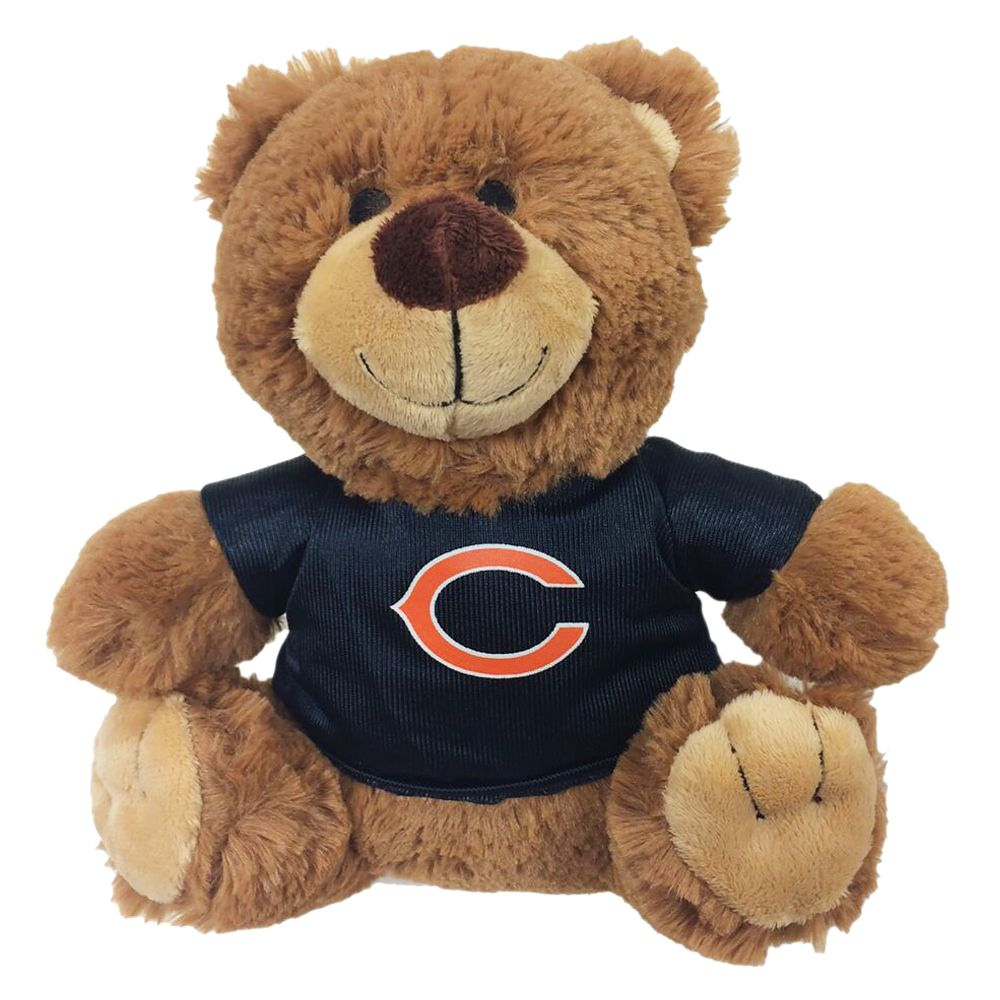 Chicago Bears NFL Teddy Bear Dog Toy, Pets First 5245176