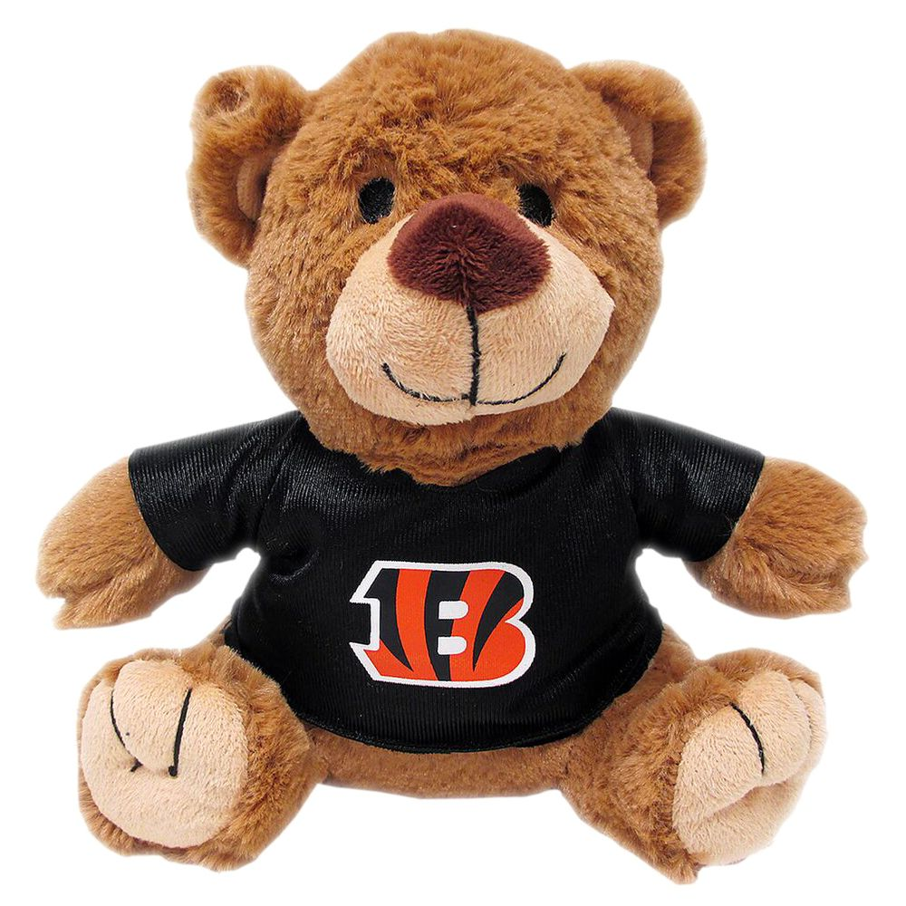 Cincinnati Bengals NFL Teddy Bear Dog Toy, Pets First 5245178