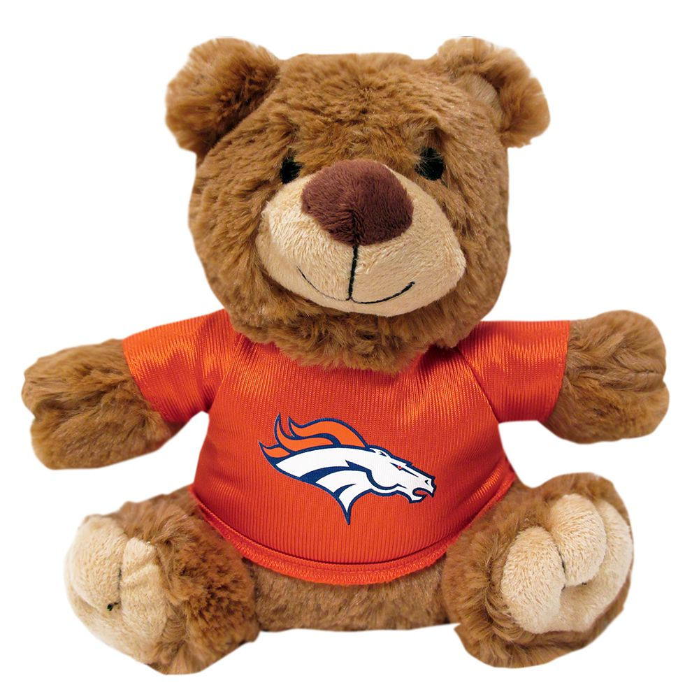 Denver Broncos NFL Teddy Bear Dog Toy, Pets First 5245180