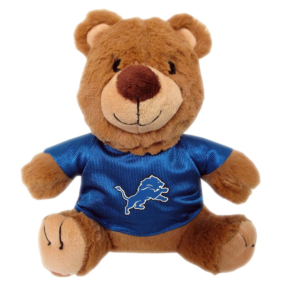 Detroit Lions NFL Teddy Bear Dog Toy, Pets First 5245181