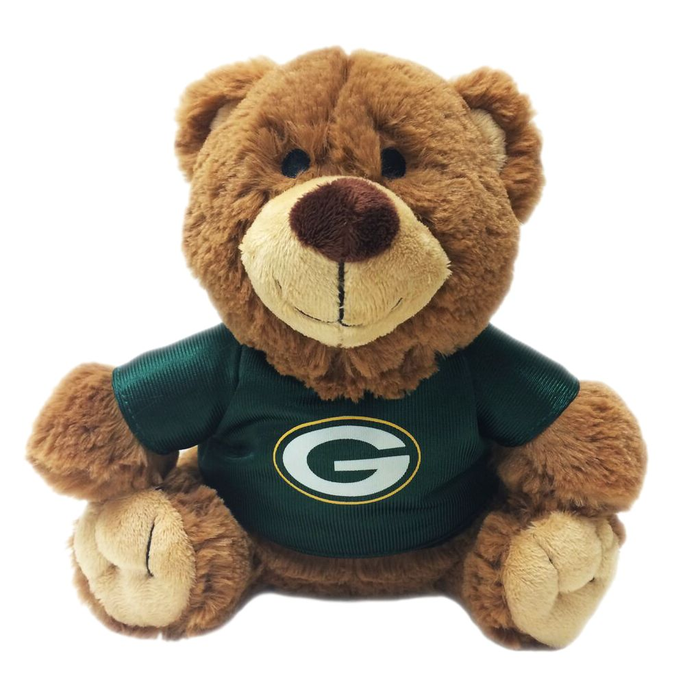 Green Bay Packers NFL Teddy Bear Dog Toy, Pets First 5245183