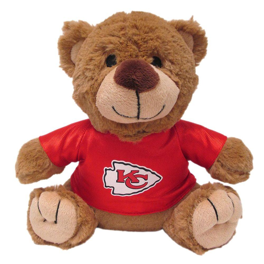 Kansas City Chiefs NFL Teddy Bear Dog Toy, Pets First 5245187