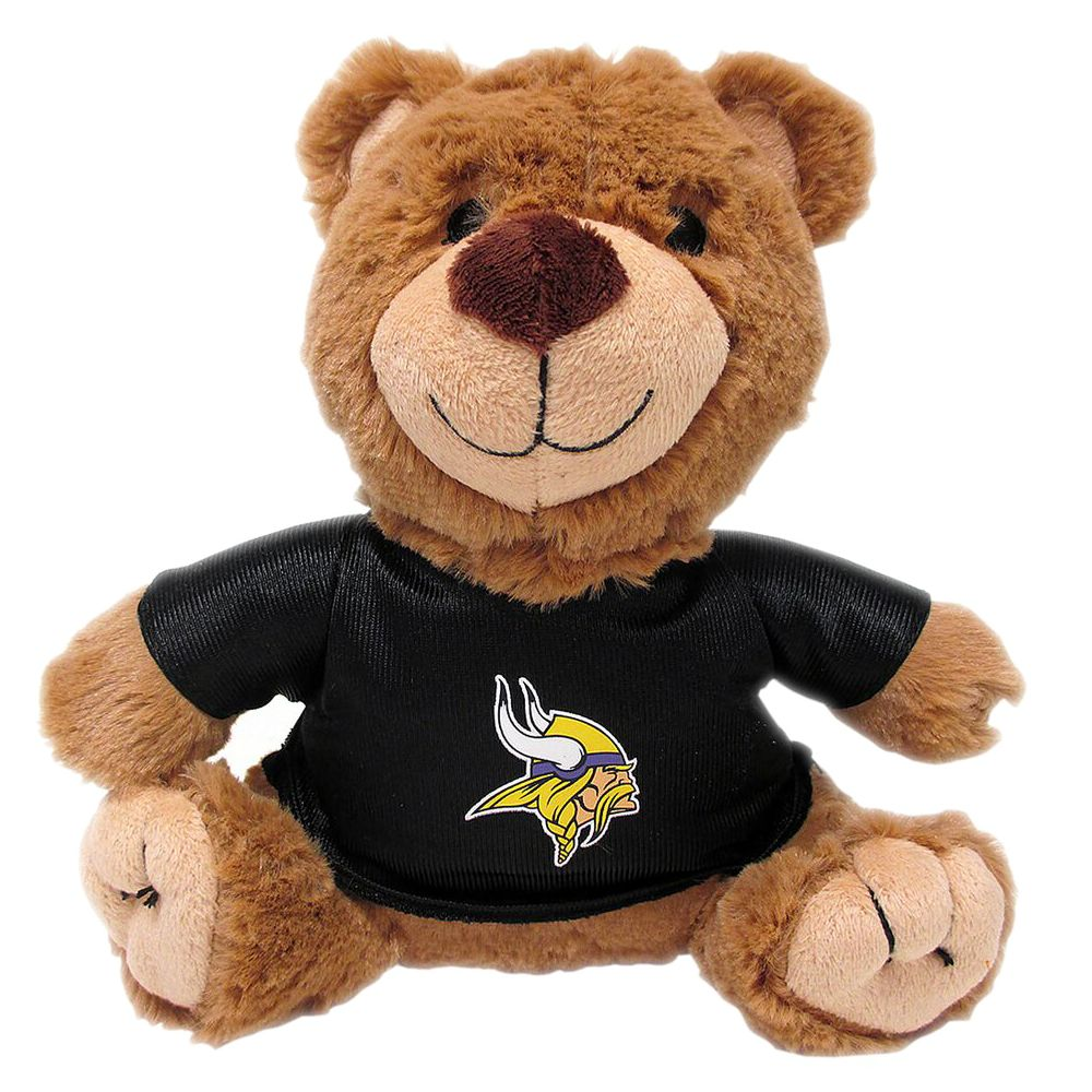 Minnesota Vikings NFL Teddy Bear Dog Toy, Pets First 5245188