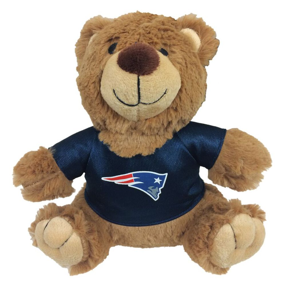 New England Patriots NFL Teddy Bear Dog Toy, Pets First 5245189