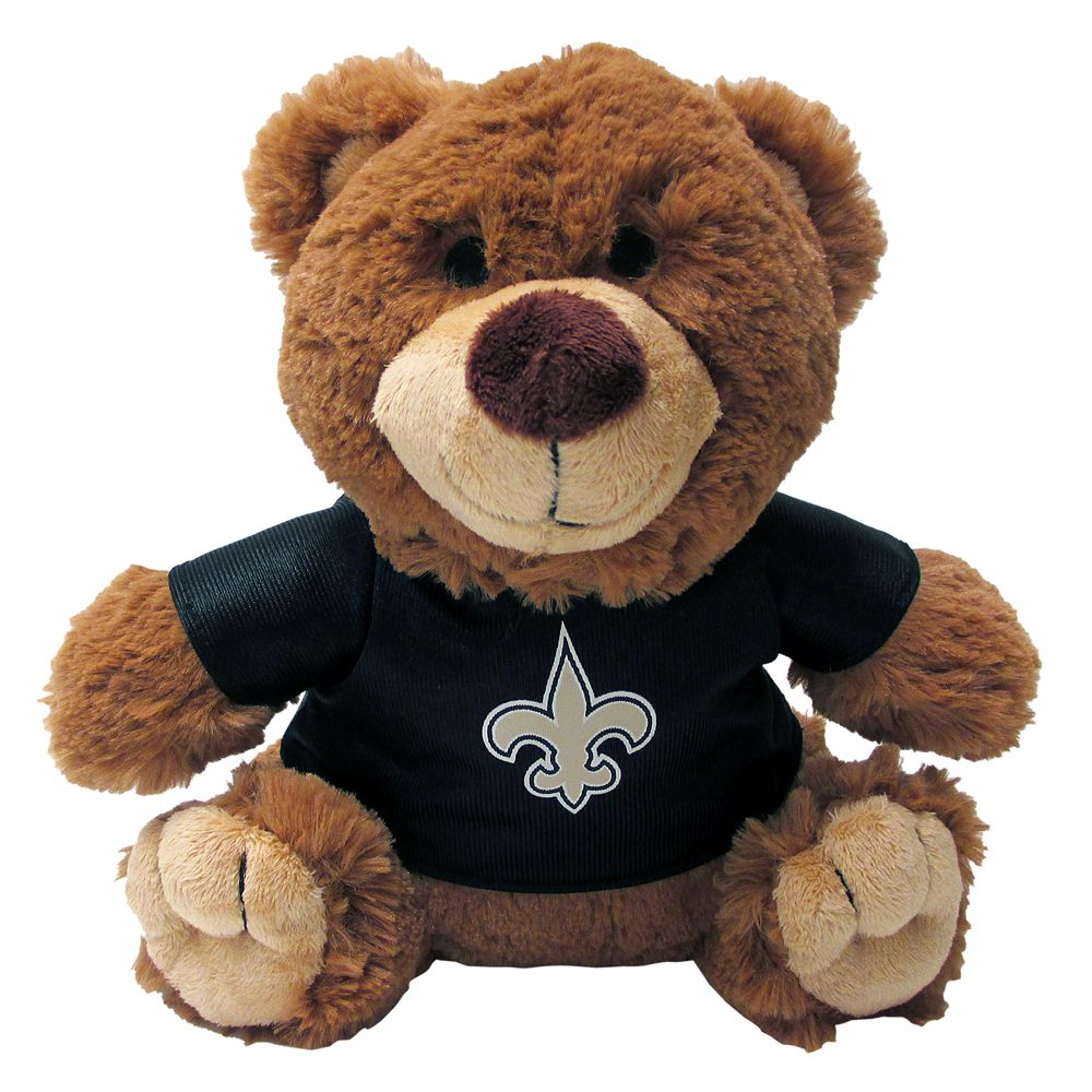 New Orleans Saints NFL Teddy Bear Dog Toy, Pets First 5245190