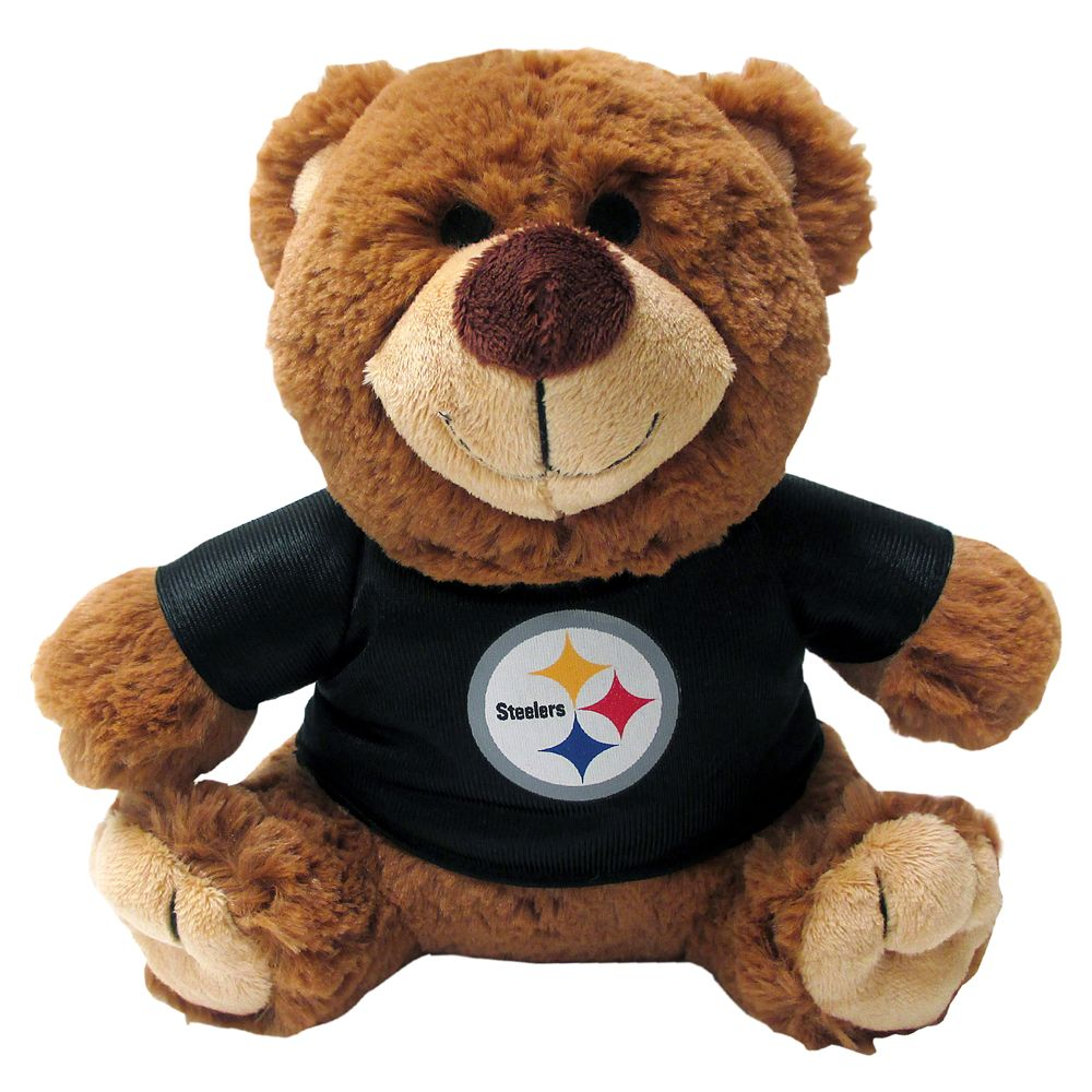 Pittsburgh Steelers NFL Teddy Bear Dog Toy, Pets First 5245195