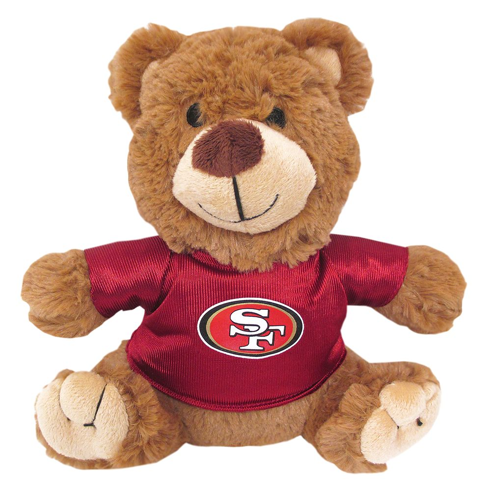 San Francisco 49ers NFL Teddy Bear Dog Toy 5245196