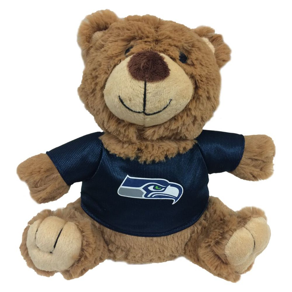 Seattle Seahawks NFL Teddy Bear Dog Toy, Pets First 5245198