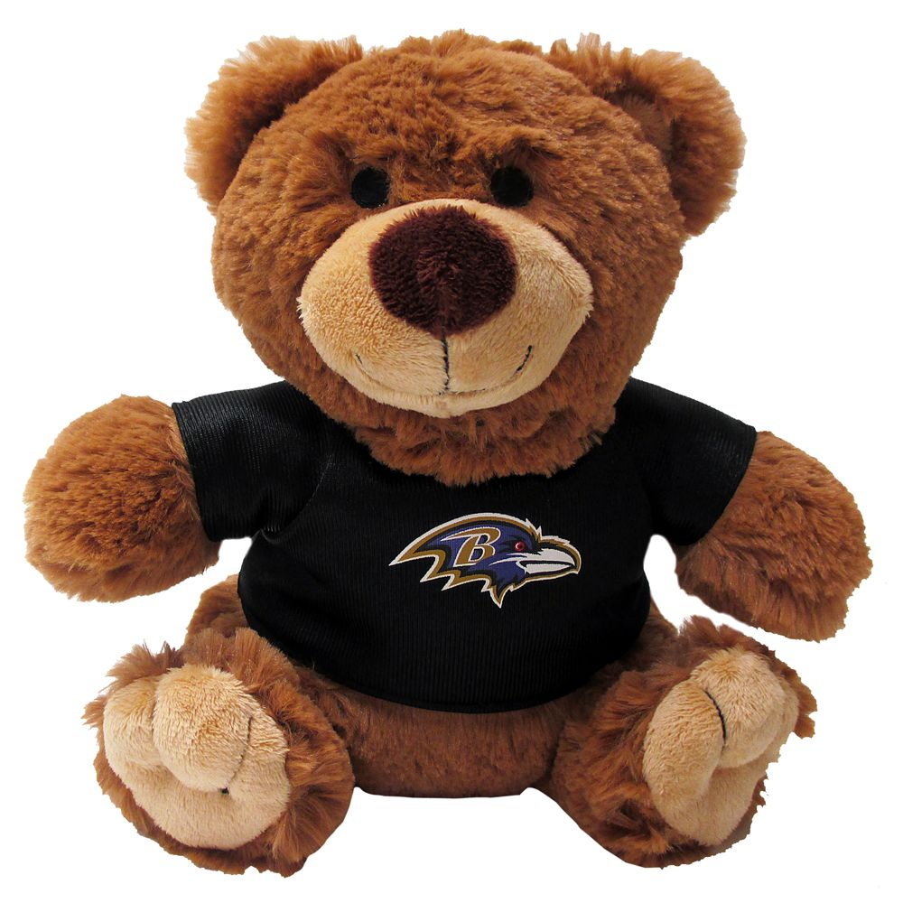 Baltimore Ravens NFL Teddy Bear Dog Toy, Pets First 5245203