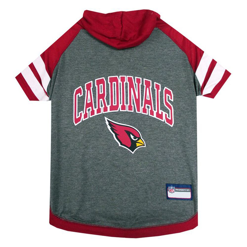 Arizona Cardinals Nfl Hoodie Tee Size X Small Pets First