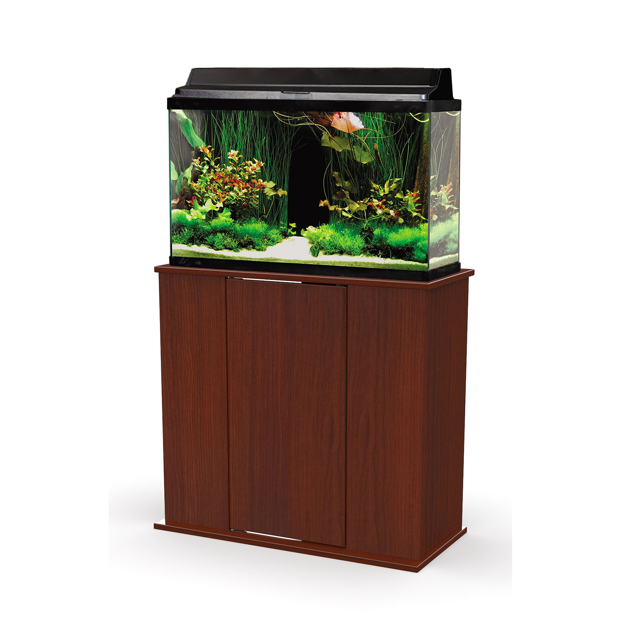 Marco 29 Gallon Upright Aquarium Stand Red