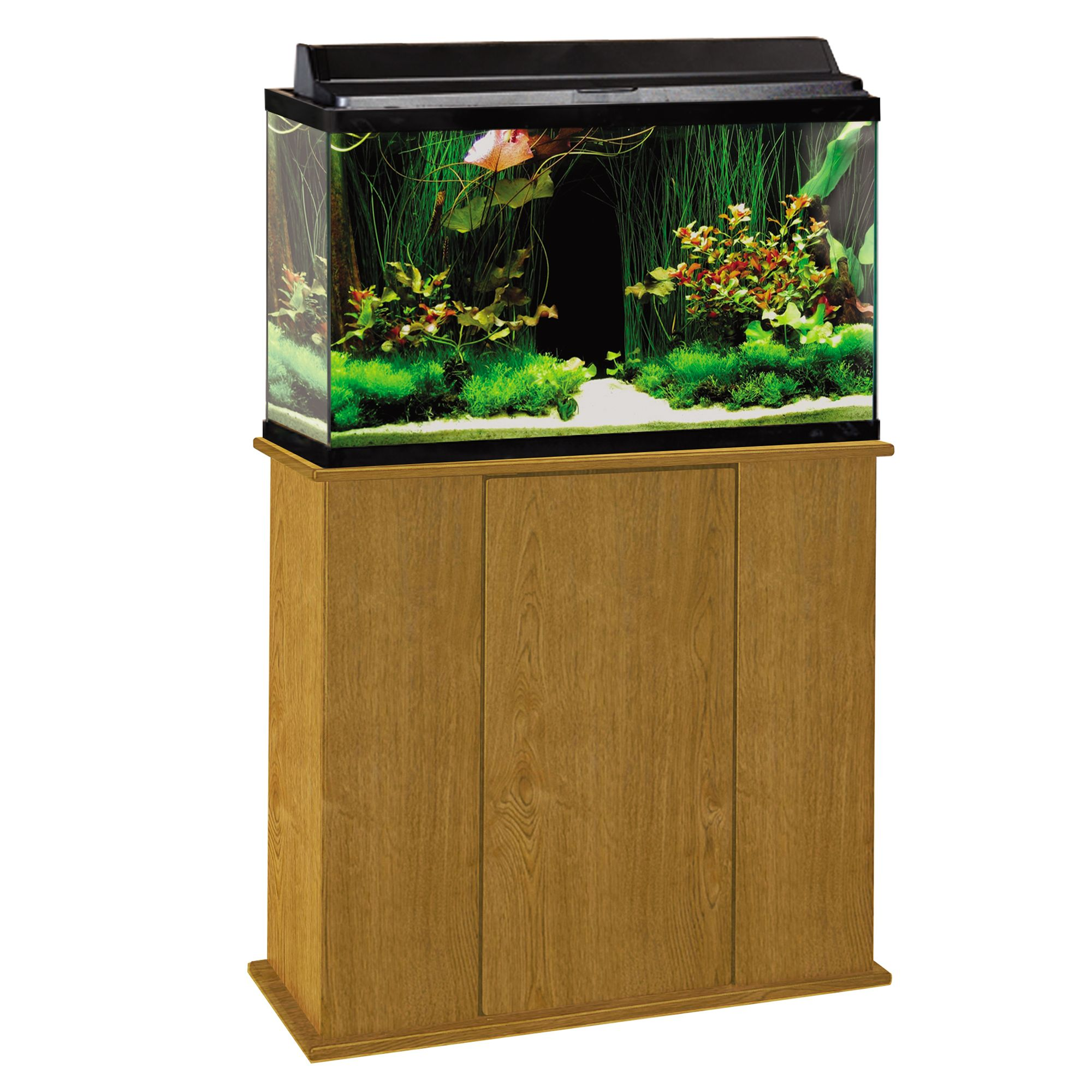 Marco 29 Gallon Upright Aquarium Stand Brown