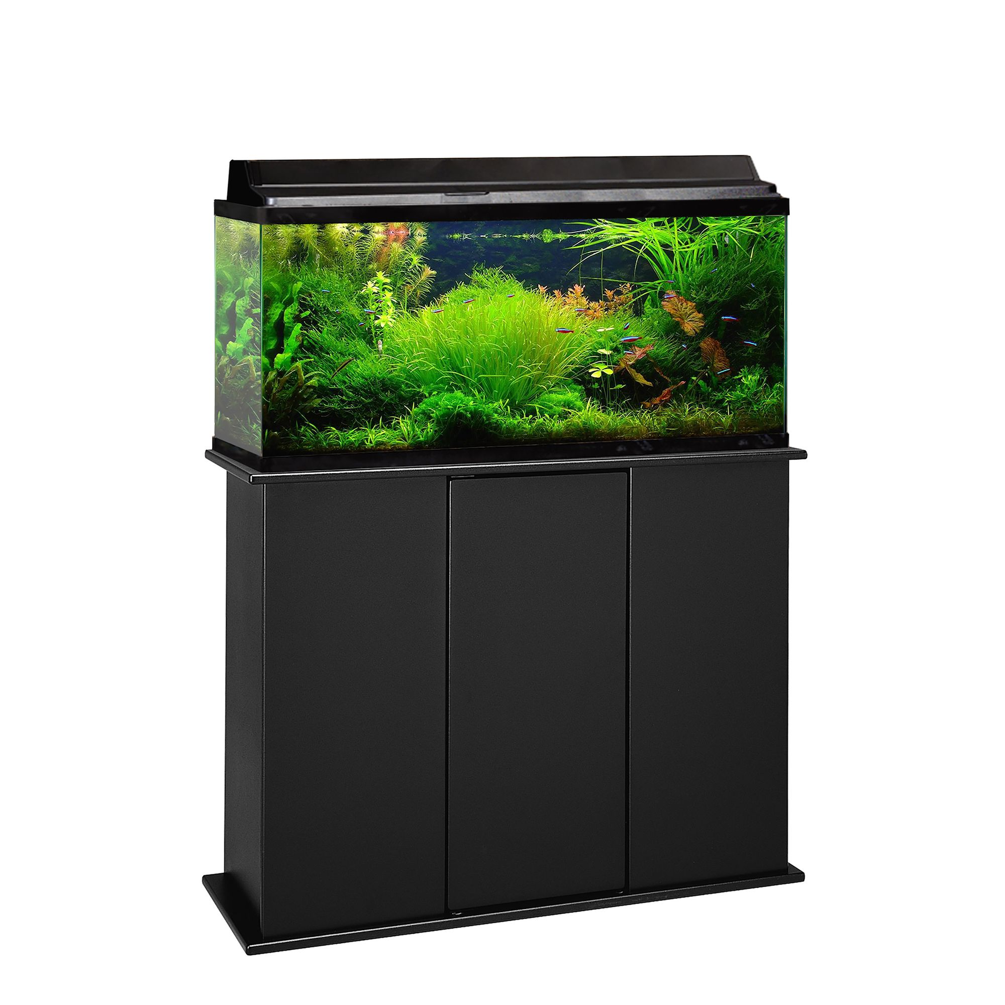 Marco 30 45 gallon upright aquarium stand red for 38 gallon fish tank