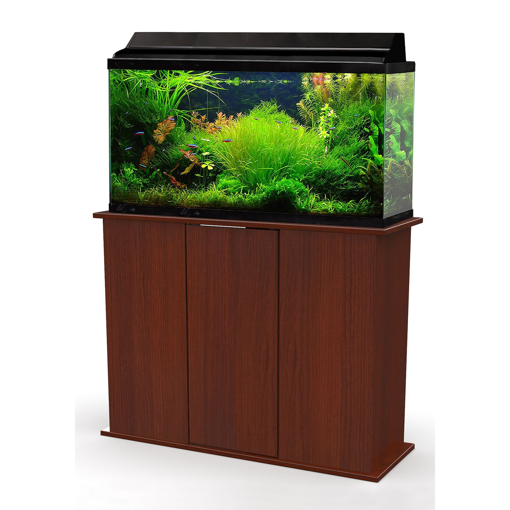 Marco 30 45 Gallon Upright Aquarium Stand Red