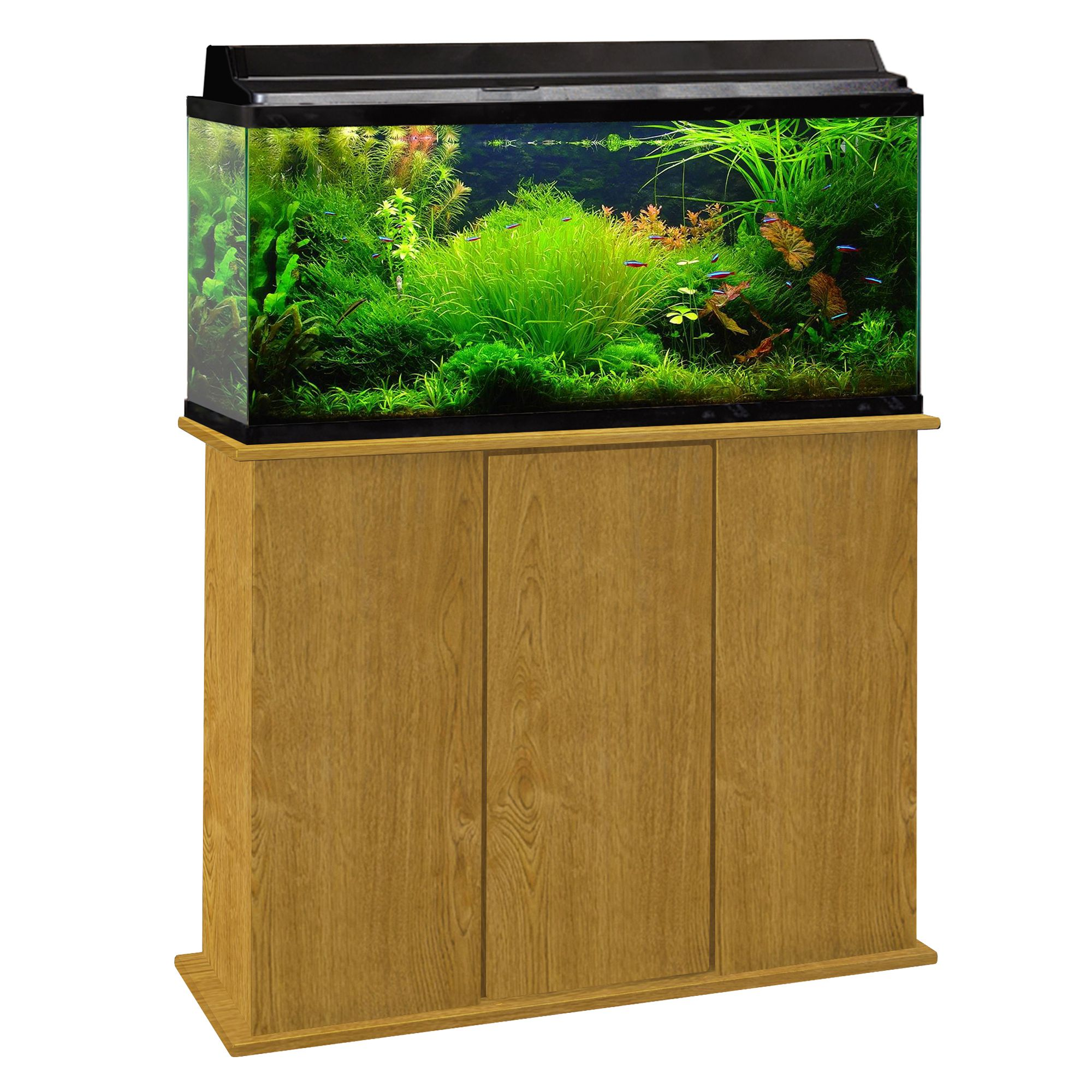 Marco 30 45 Gallon Upright Aquarium Stand Brown