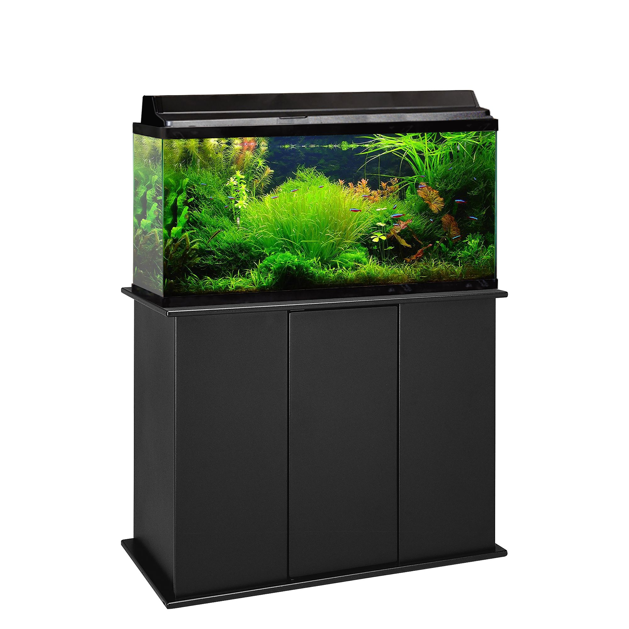 Marco 50 65 Gallon Upright Aquarium Stand Black