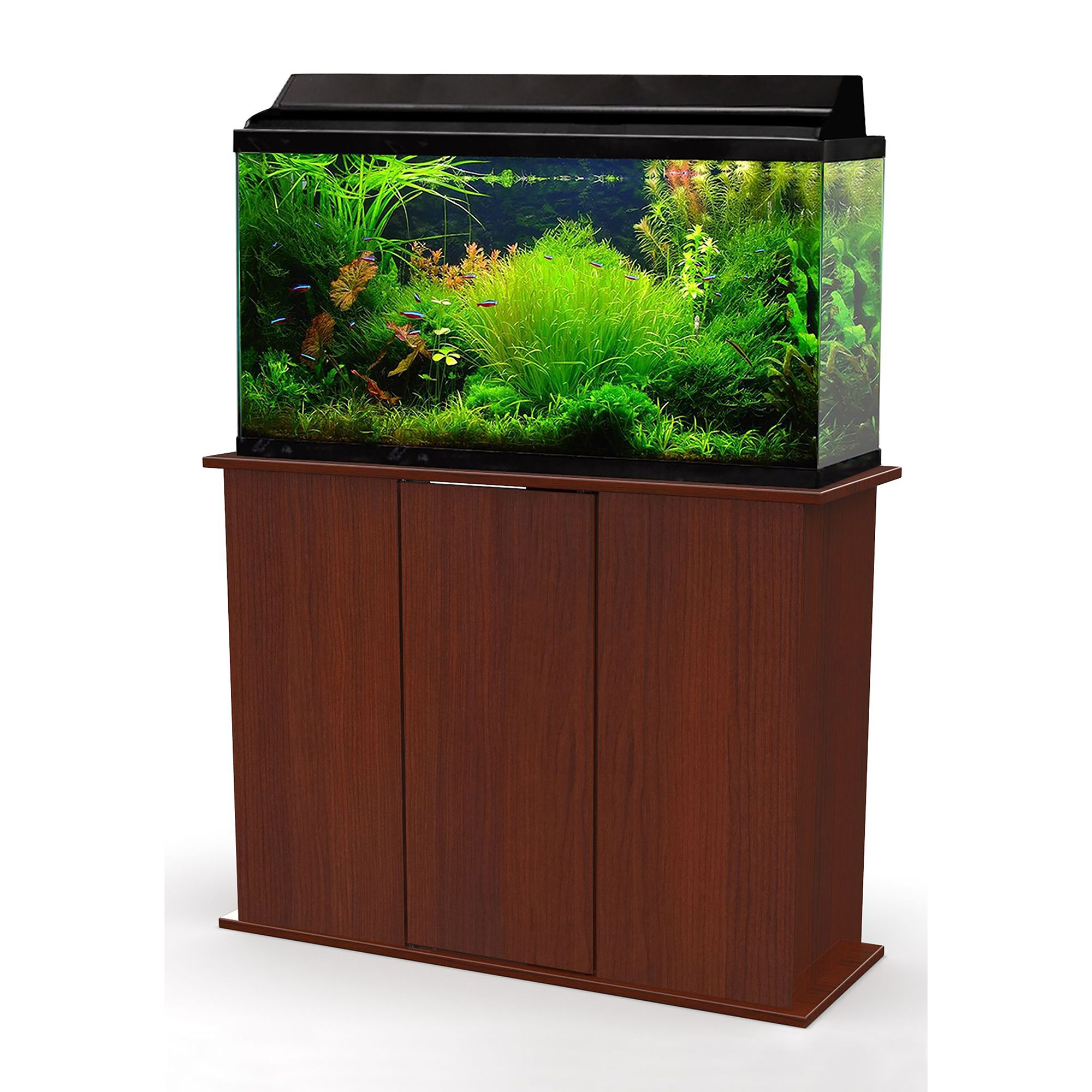 Marco 50 65 Gallon Upright Aquarium Stand Red